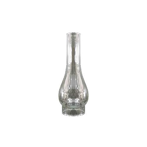 Tulipa de cristal quinqué transparente con boca de 60 mm LB 529645B