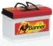 Batería de arranque portabicicletas pancarta adaptadores de corriente de 12 V, 77Ah, 680 A (EN), P7740