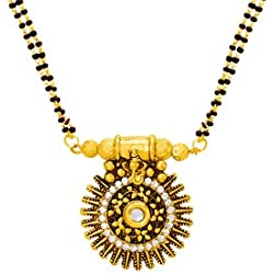 Voylla Traditional Mangalsutra with Dainty Ganpati Motif