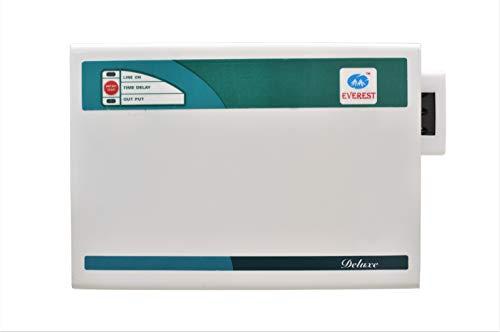 Everest 5KVA Delux Voltage Stabilizer Used Upto 1.5 ton AC Input Rage  185 V 270 V   100% Copper