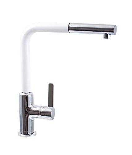 Preisvergleich Produktbild Kludi LINE-S Spültisch-Einhandmischer DN 15, weiß matt, 408519375