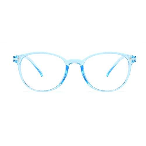 Idyandyans Kunststoff-Brillen Rahmen klare Linse Gläser Männer Frauen Plain Brillen Dekorative Ultralight Glas-Rahmen