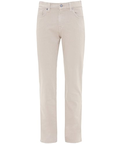 7 For All Mankind Herren Slimmy Lux Jeans Beige Beige