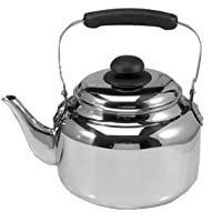 Danesco 6 Quart Stainless Steel Country Tea Kettle
