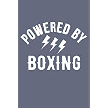 Empowered by Boxing Notebook Boxing Lovers Journal a Beautiful: Lined Notebook / Journal Gift, 120 Pages, 6 x 9 inches, Birthday Gift, Boxing Notepad , Cute, Funny, Gift, Journal, College Ruled