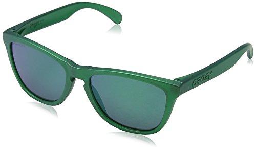 Oakley Herren FROGSKINS 9013C6 55 Sonnenbrille, Grün (Gamma Green/Prizmjade),