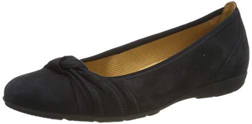 Gabor Shoes Damen Casual Geschlossene Ballerinas, Blau (Pazifik 16), 41 EU -