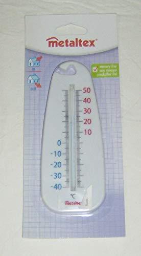 Metaltex Thermomètre Blanc, 5 x 280 x 70 cm