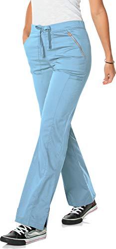 Landau Women's Blush Flare Leg Drawstring Scrub Pant-Hype - Landau Flare Leg Hose