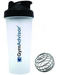 gymadvisor SHAKER de protéines Sport Bidon - 600 ml-Boule gym blender calisthenics la santé et le fitness