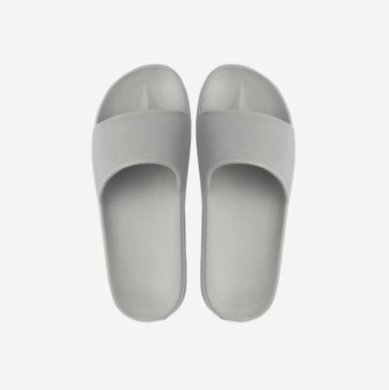 Fankou Four Seasons zapatillas dormitorio baño home tiene un verano antideslizante ,43-44, gris