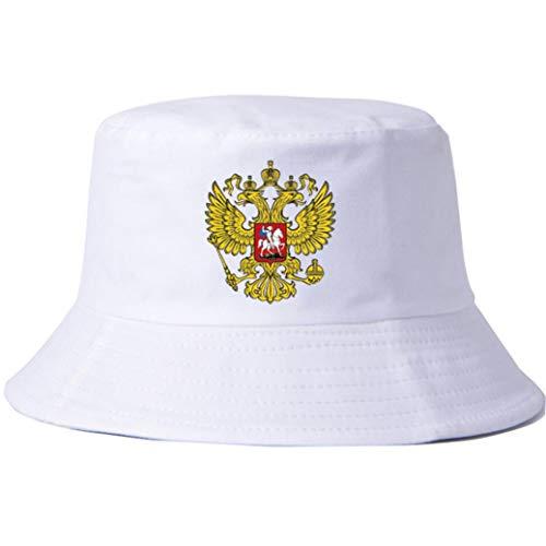 AROVON Hüte Russland Baumwolle Muster Unisex Frauen Männer Hüte Sommer Party Street Plain Eimer Hut Hip Hop Sad Boy Caps