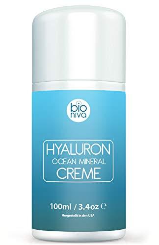 alkomplex Creme für Gesicht, Hände, Nacken und Dekolleté. Hydratisierende Tagescreme mit Hyaluron, Shea Butter, Antioxidantien und Algenkomplex. Für Frauen und Männer. 100ml ()