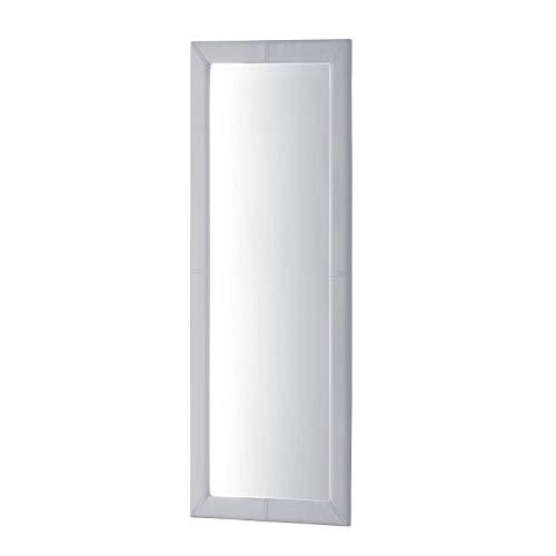 Adec - Espejo de Pared tapizado, Espejo Rectangular Cuerpo Entero salón, recibidor, Comedor, Dormitorio...