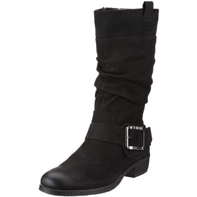 Tamaris 1-1-26031-25 Riceci-B-1K-1, Damen Stiefel, Schwarz (BLACK 001), EU 38