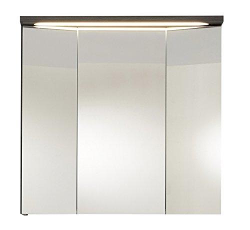 Trendteam ado50421humo–Espejo de baño plata, medidas 80x 72x 21,5cm