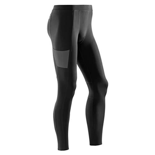 CEP - Training Tights für Herren | Lange Sporthose mit echter Kompression in schwarz | Größe XXL -
