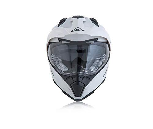 Acerbis casco flip fs-606 bianco