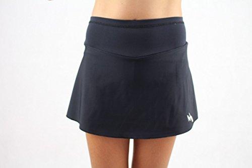 Tennisröcke Mädchen (Schwarz, Größe: 104-110/ Alter: 3-5 Jahre)