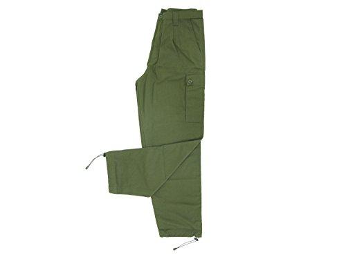 BE-X Leichte Feldhose -BCU- mit 5 Taschen, aus RipStop Gewebe - Olive (Hose Acu Olive)