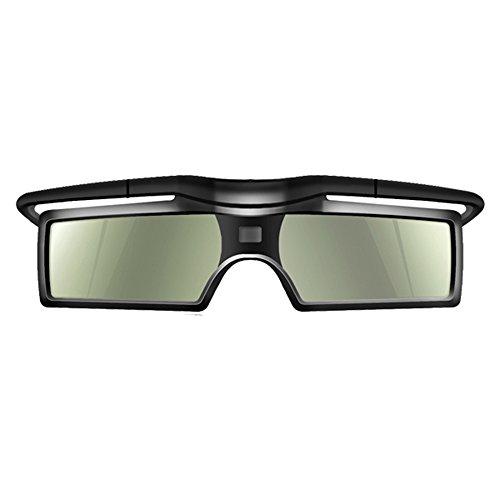 Andoer Occhiali 3D G15-DLP 3D Occhiali Otturatore Attivi 96-144Hz per LG/BENQ/ACER/SHARP DLP Collegamento 3D Proiettore