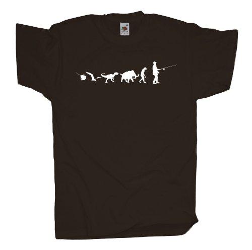 Ma2ca - 500 Mio Years - Angler Angel T-Shirt Chocolate