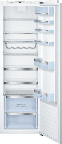 Bosch kir81ad30 Réfrigérateur/A + +/177,2 cm Hauteur/116 kWh/an/Ventilateur avec filtre à charbon actif pour une meilleure hygiène Odeur et/spécial Bouteille rouille, glanzverchromt/lave-vaisselle monté