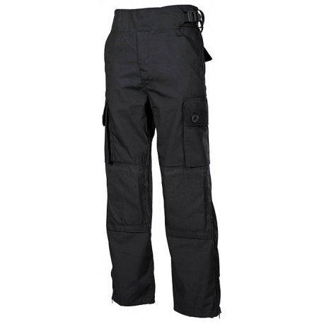 Tucuman Aventura - Pantalon Poches Commande. Habillement Airsoft (Noir, XXL)