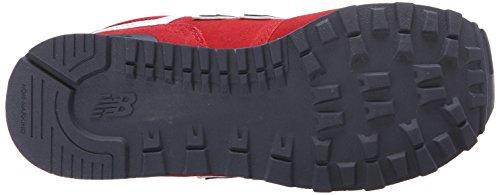 New Balance KL574 Rund Textile Turnschuhe Rot