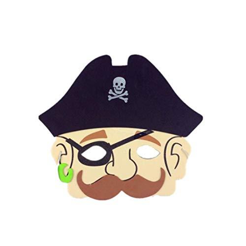 n EVA Foam Cartoon Maske Kostüm Partygeschenke | Anzieh-Kostüm für Party | EVA Foam Cartoon Mask Costume Party Mask Favors Dress-Up Costume for Party (G) ()