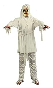 Ciao- Costume Adulto Mummia con maschera TG. XL Disfraces, Color gris, 16195