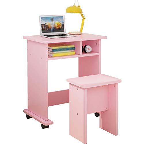 Schreibtisch Kreativer entfernbarer Laptop-Schreibtisch Moderner einfacher einzelner Schreibtisch Hauptschlafzimmer-Schreibtisch Computertisch Multifunktionsschreibtisch Workstations ( Größe : 70cm ) -