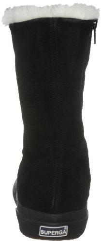 Superga 2040-SUEBW, Sneaker donna nero (Schwarz (Full Black))