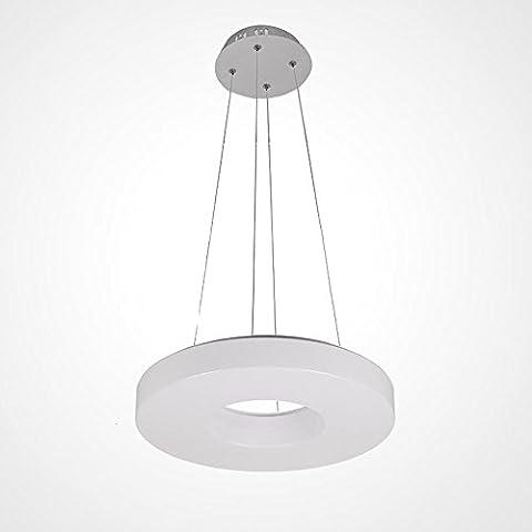 Rond Mini blanc Mode Aura Lampe pendante Moderne Simple Créatif