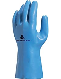 2 x Pairs Venitex Latex Waterproof Safety Work Gloves Size 7.5 (Medium)