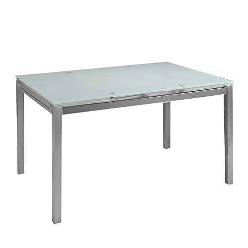 MOMMA HOME Mesa de Comedor Extensible - Modelo Helen - Color ...