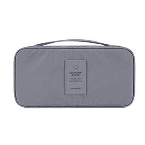 QSEVEN - Portatrajes de viaje , gris (Gris) - IG7-StorageBag02-Grey