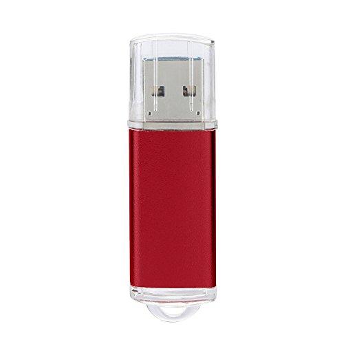 Preisvergleich Produktbild Xmansky 1GB USB 2,0 OTG Metall Blinken Erinnerung Stock Lagerung Daumen U Scheibe Unterstützt Windows 7/8/98 / Me / 2000 / XP / Vista / Linux 2.4, Mac OS 9.0 Und über Etc Computer Betriebs Systeme (Rot)