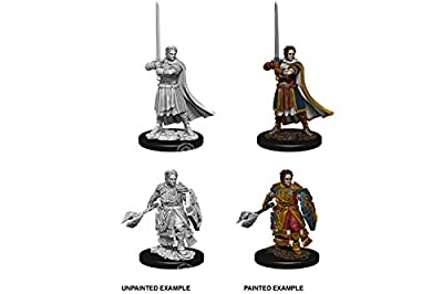 Dungeons & Dragons: Nolzur's Marvelous Unpainted Minis: Male Human Cleric