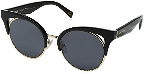 Marc Jacobs Damen MARC 215/S IR 807 51 Sonnenbrille, Schwarz (Black/Grey Bluette),