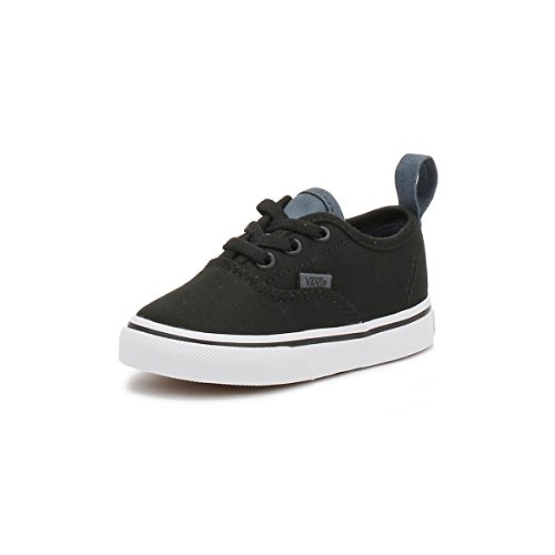 Linho Autênticos Lona Elástica Sneakers Filhos Slip on Vans Preta Renda dwIqCECFx