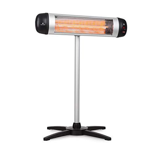 Blumfeldt Rising Sun - Radiador infrarrojo - elemento calefactor de carbono -...