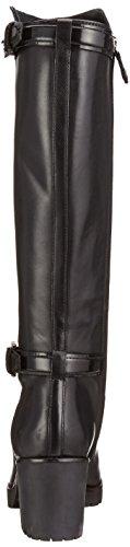 Geox D New Dovelyn D, Bottes Classiques Femme Schwarz (BLACKC9999)