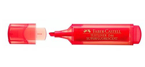 FABER-CASTELL Textmarker TEXTLINER 1546, rot VE=3
