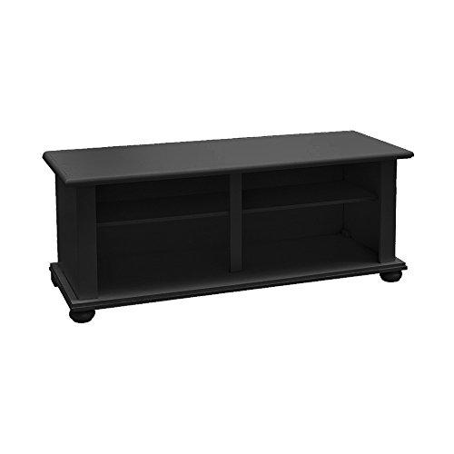 Pieffe Mobili Oignon Porte TV, Bois, Noir, 120 x 42 x 50 cm, 7 unités