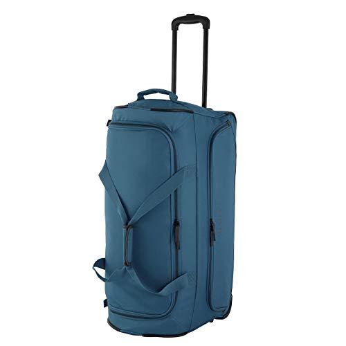 Rada Reisetasche mit Rollen für Damen und Herren, große Sporttasche mit Trolleyfunktion, für Jungen und Mädchen (Petrol grau)