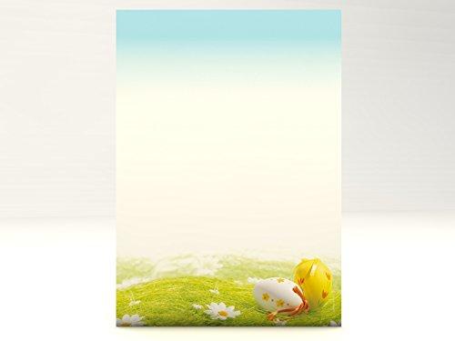Ostereier im Gras, 20 Blatt Motivpapier 90g/qm