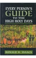 Every Person's Guide to the High Holy Days (Every Person's Guide Series)