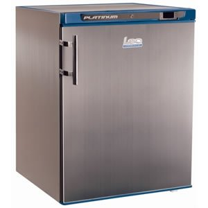 LEC Commercial 444441136 Under counter Refrigerator, S/S, 200 L, Silver