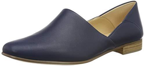 Clarks Damen Pure Tone Slipper, Blau (Navy Leather Navy Leather), 39.5 EU